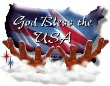 God Bless You America 4th of July Best Wishes Image