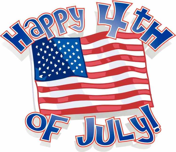Happy 4th of July Best Wishes Image