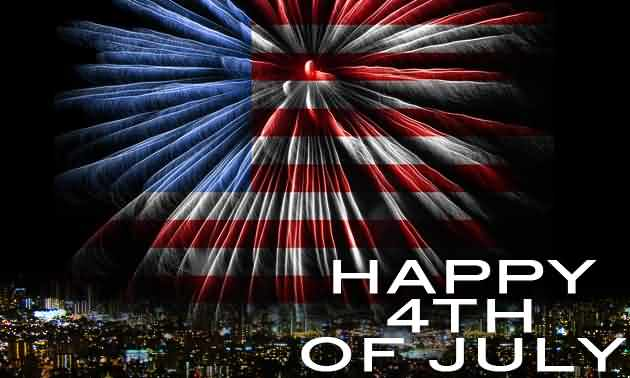 Happy Independence Day 4th of July Greetings Message Image