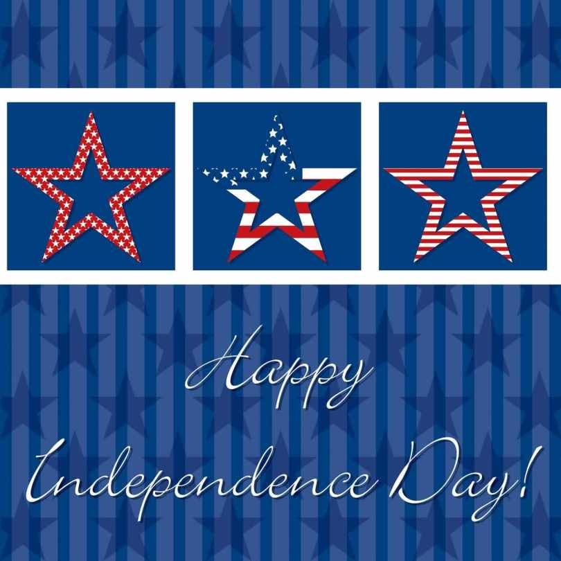 Have A Happy 4th July Greetings Card Image