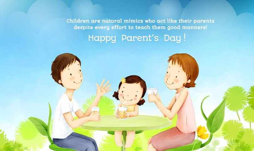 Have A Happy Parents Day Wishes Picture