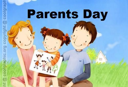 Have A Wonderful Parents Day Greetings Card Image