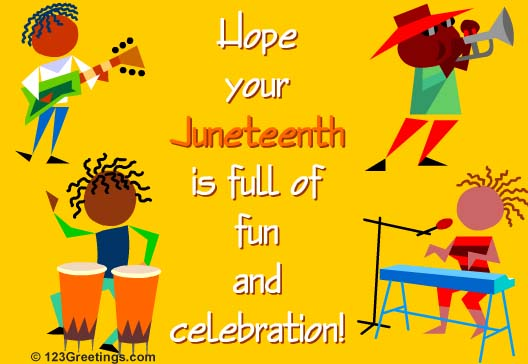 Hope You Juneteenth Is Full Of Fun And Celebration