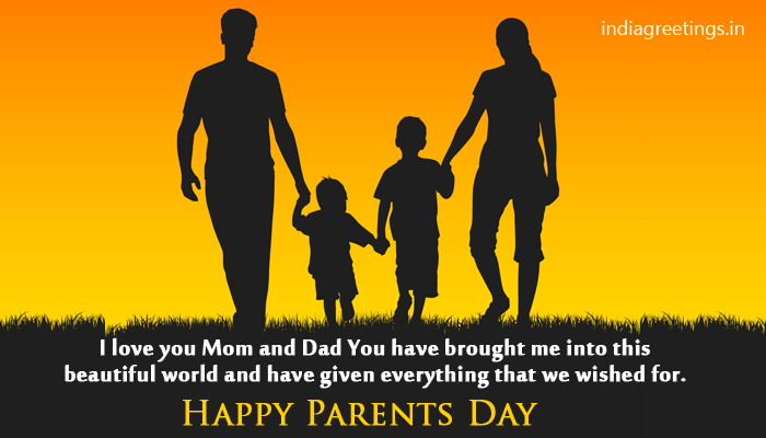 I Love You Mom And Dad Happy Parents Day Wishes Message To You Parents Image