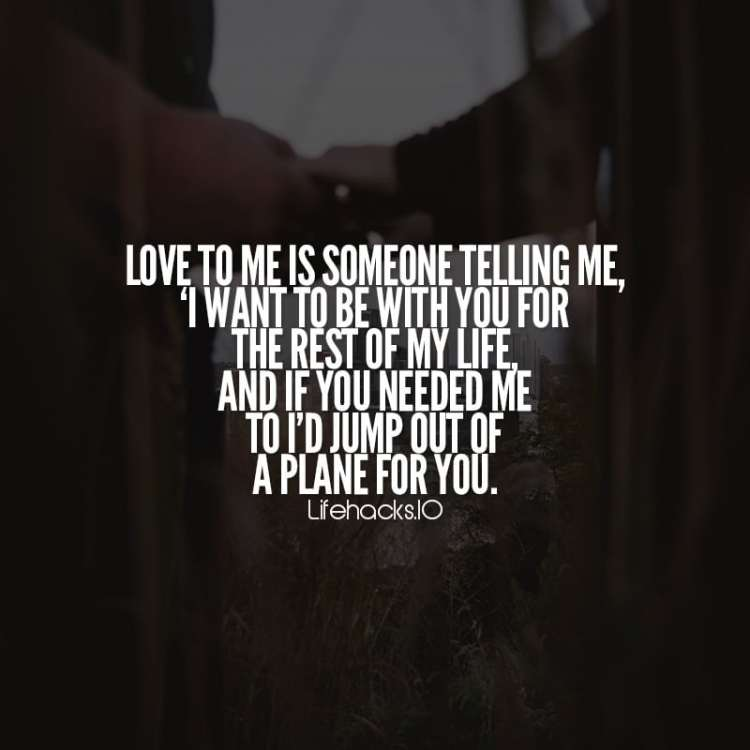 Love Quotes Love To Me Is Someone Telling Me
