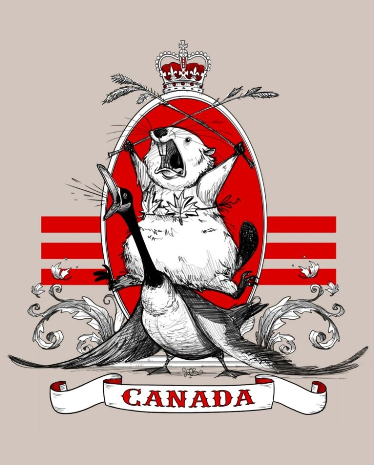 Wishing You A Very Happy Canada Day Message Image