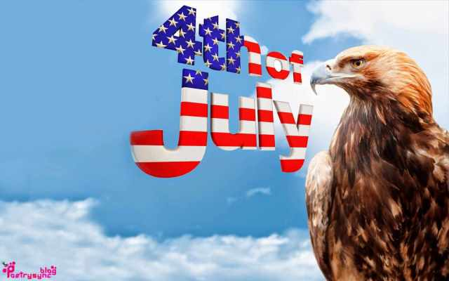 Wonderful 4th July Eagle Wallpaper Happy Independence Day Wishes