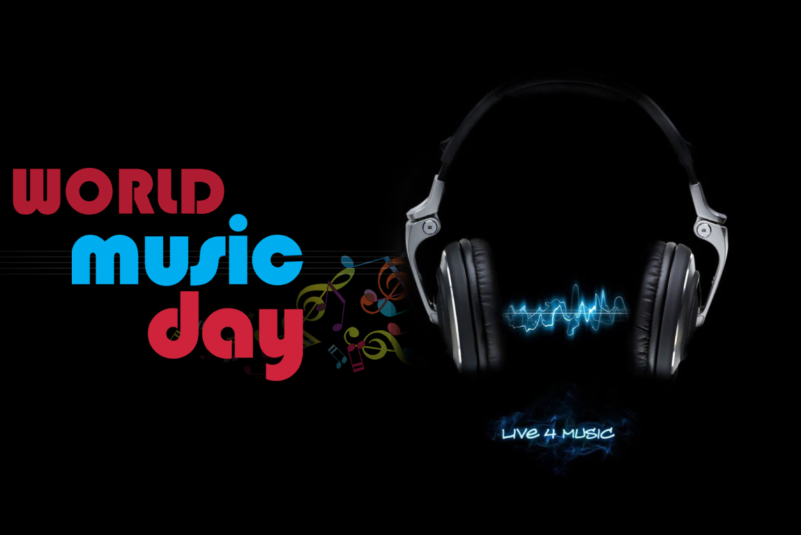 World Music Day Best Wishes Love Music Message Wallpaper