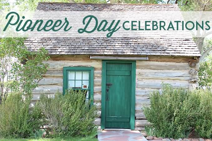 Pioneer Day Celebrations In Old House Image