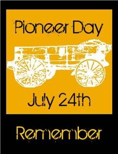 Pioneer Day Wishes Card Image