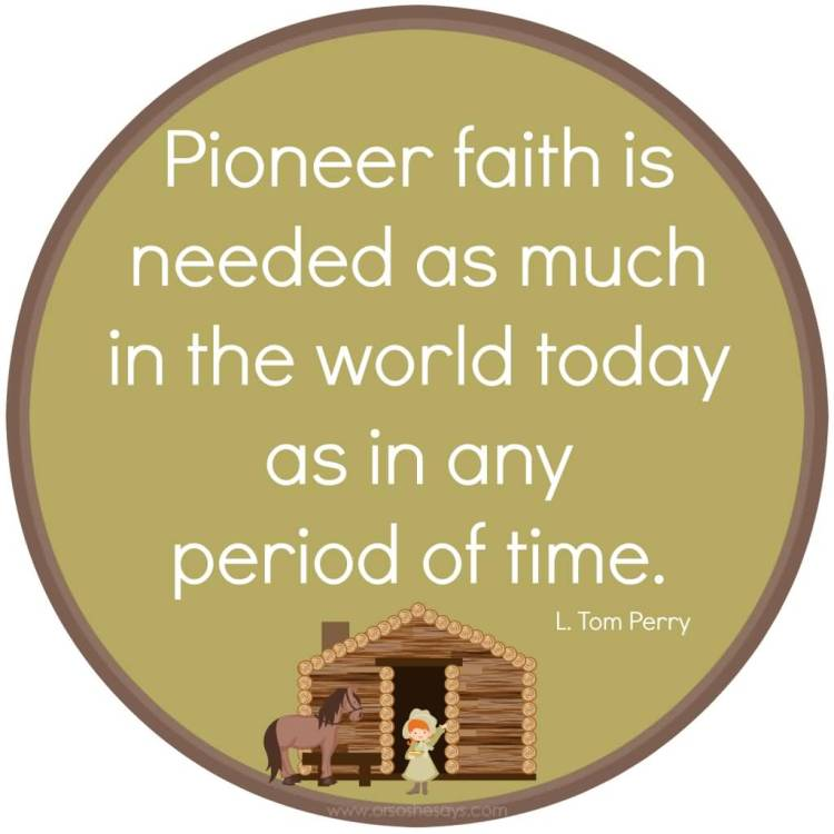 Wonderful Pioneer Day Wishes Quotes Image
