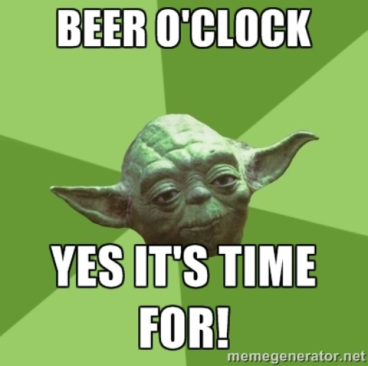 Beer O'Clock Yes It's Time For! Beer Memes