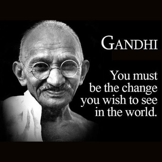 Mahatma Gandhi Quotes Sayings 01