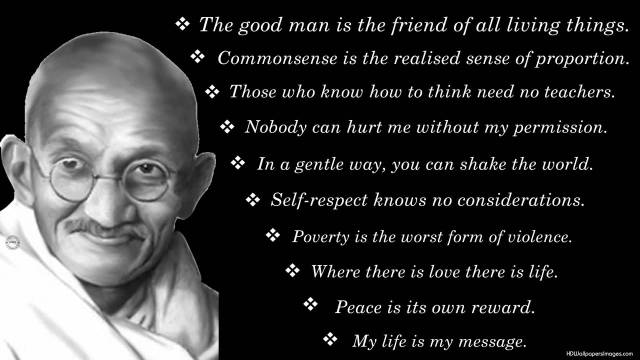 Mahatma Gandhi Quotes Sayings 20