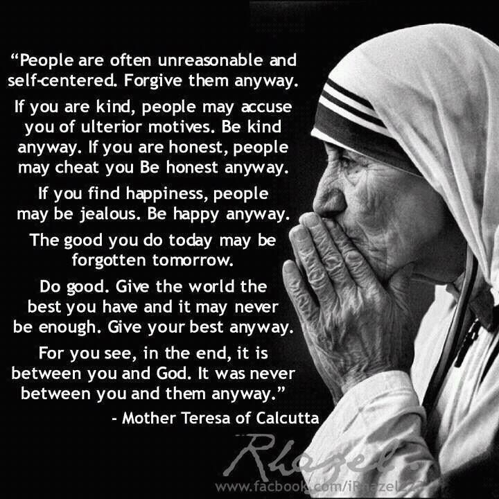 Mother Teresa Quotes Sayings 11