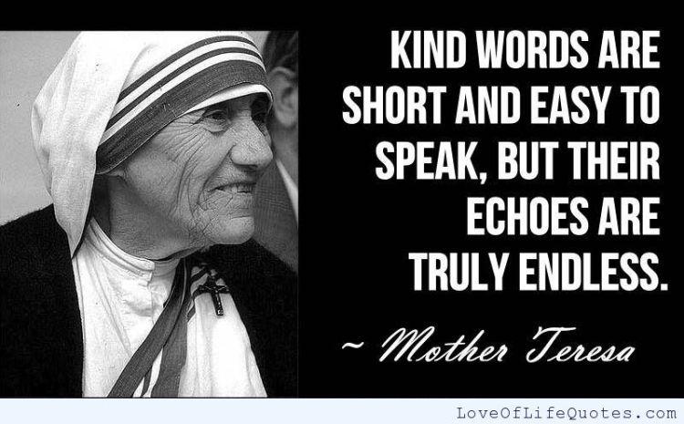 Mother Teresa Quotes Sayings 16