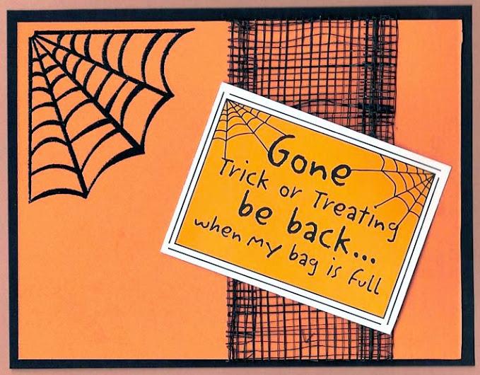 Awesome Halloween Card