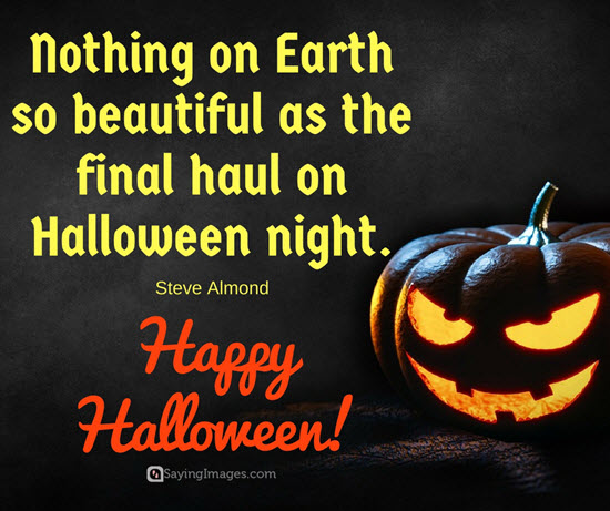 Image short halloween sayings