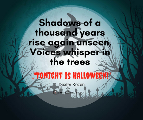 Mind Blowing scary halloween quotes