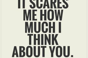 Scared In Love Quotes