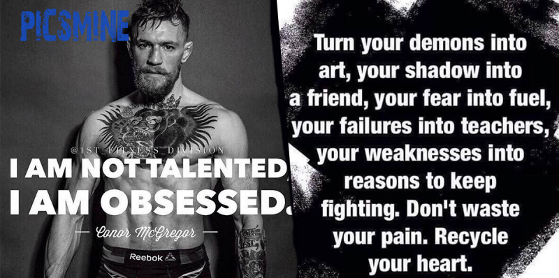 Turn Your demons into art Motivational Quotes For Athletes