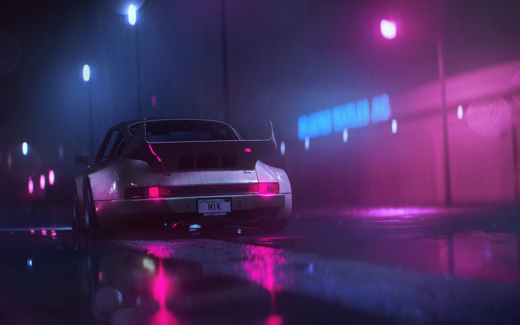 Download wallpaper in (800x600) download (800x600) wallpaper. Desktop Wallpaper Porsche Car Sports Car Rain Night Art Hd Image Picture Background 92661d