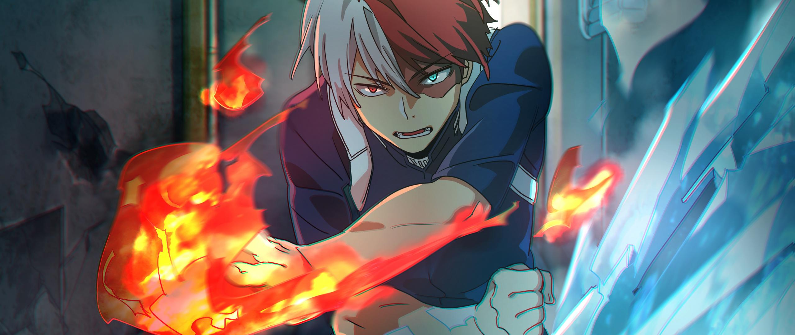 We have 22785 anime 4k wallpapers and. Download 2560x1080 Wallpaper Shouto Todoroki, Boku No Hero ...
