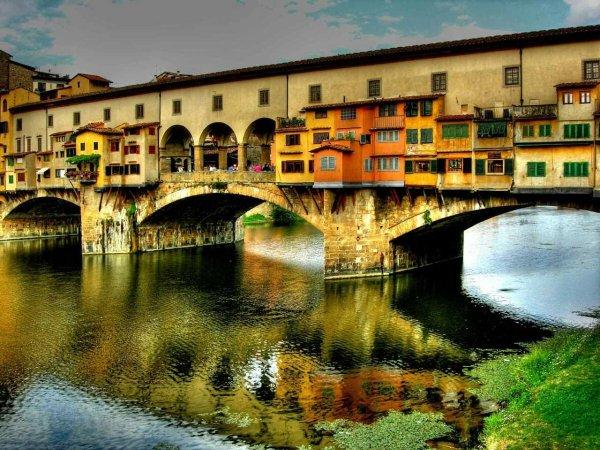 Мост понте веккьо флоренция италия: фото, изображения и ...