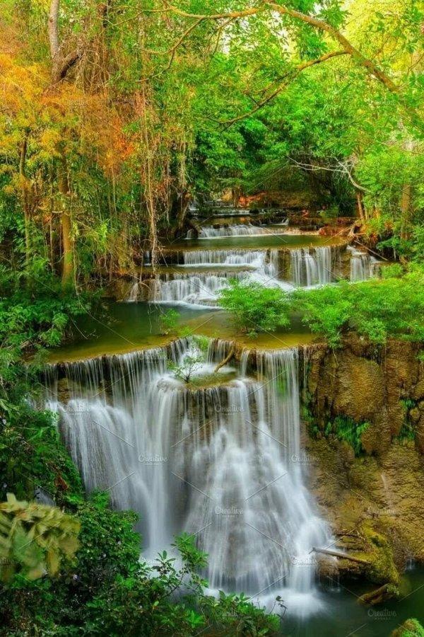 Живые обои водопад анимация: фото, изображения и картинки