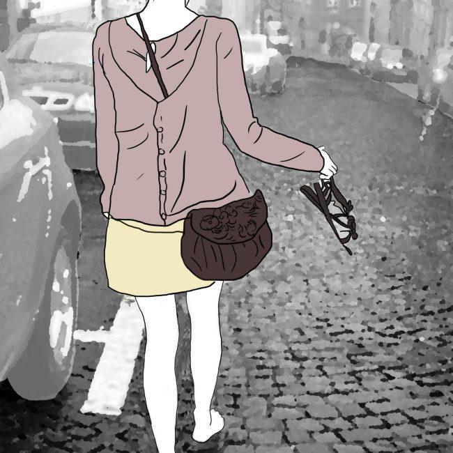 Julie - Illustration numérique