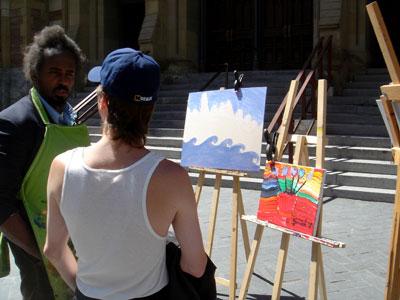 Zurich et Billy, amateur d\'art