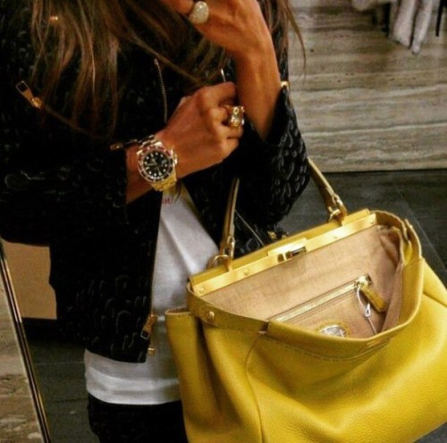 Image result for Yellow bag instagram