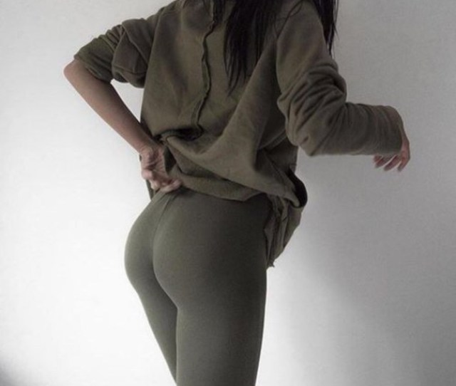 Pants Olive Leggings Olive Pants Booty Leggings Thong Olive Green Green Green Pant