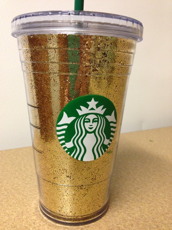 Starbucks Glitter Cup By PretttyLittleThings On Etsy