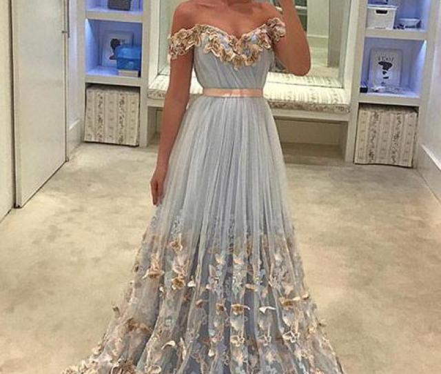 Dress Prom Blue Dress Prom Dress Long Prom Dress Lace Prom Dress Evening Dress Long Evening