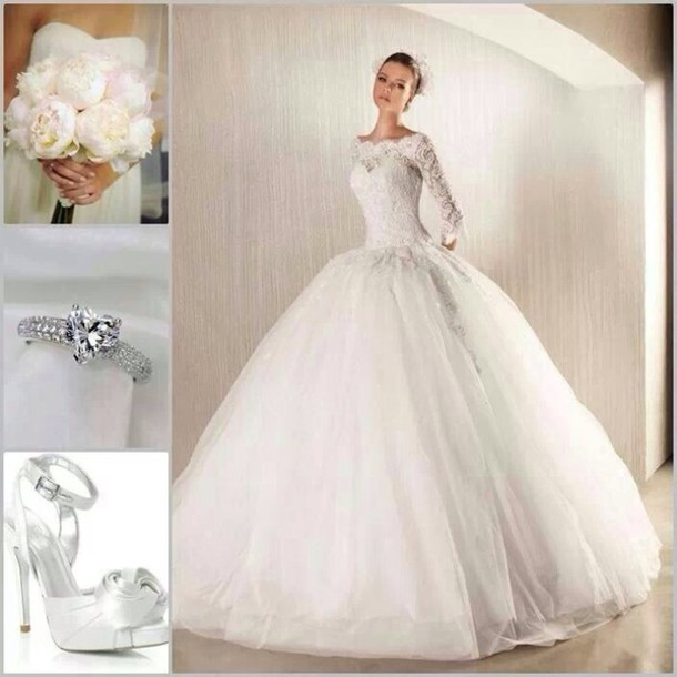 Shoes Wedding Dress