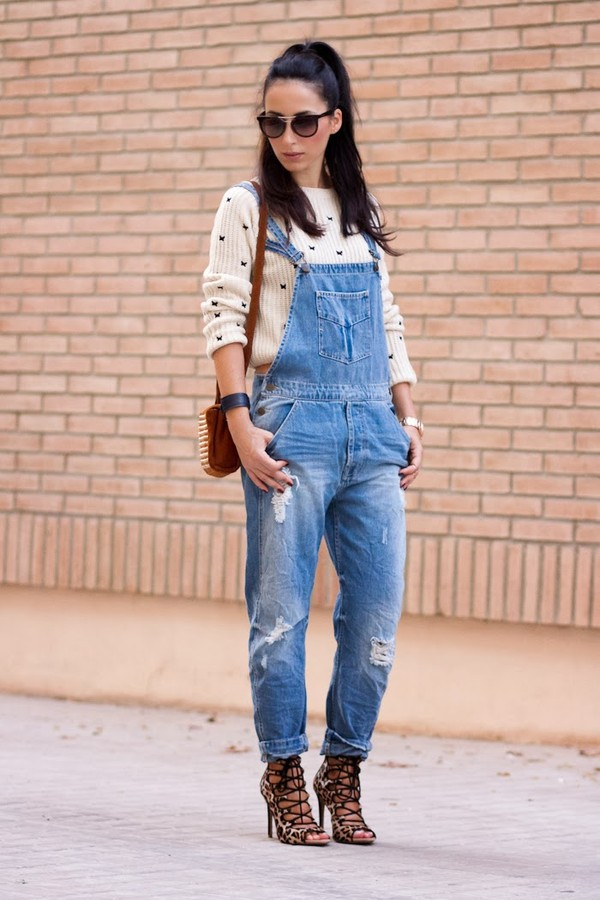 HOT selling 2013new Korean washing frayed denim overalls ...