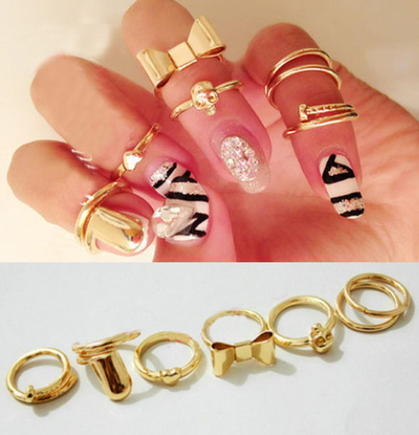 jewels  2014 rings  ring  gold ring  ring  gold  gold jewelry     jewels  2014 rings  ring  gold ring  ring  gold  gold jewelry  fashion   swag  accessories  fashion accessory  fashion accessory  valentines day    Wheretoget