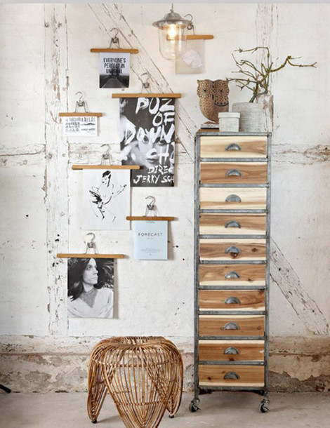 Home Accessory Wood Frame Poster Hipster Home Decor