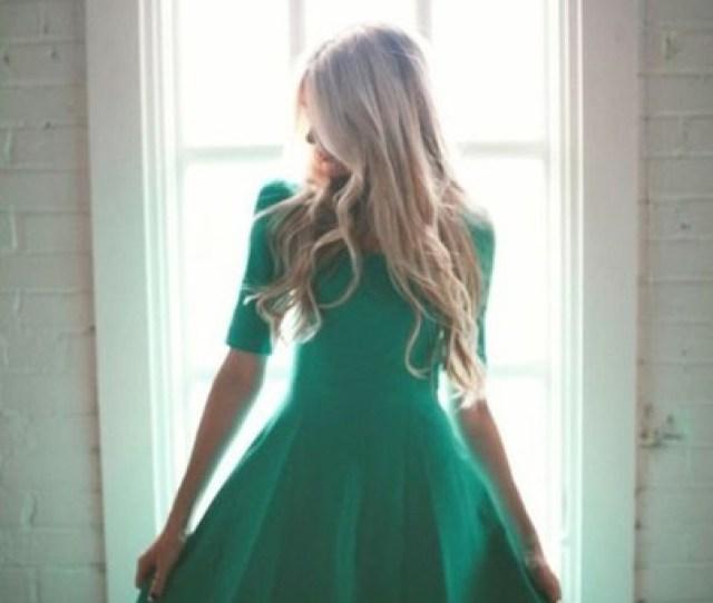 Dress Green Dress Emerald Green Emerald Green Dress Vintage Vintage Dress A Line Dress A