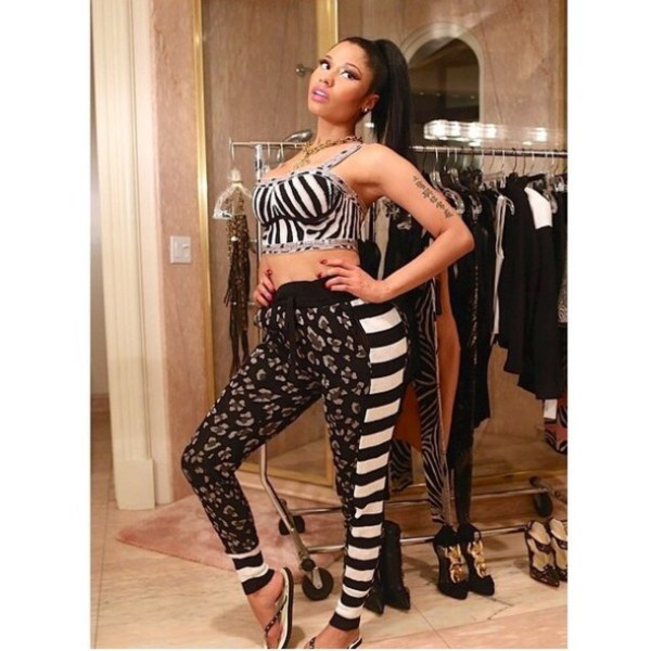 leopard print, stripes, grey, joggers, sweatpants, style ...