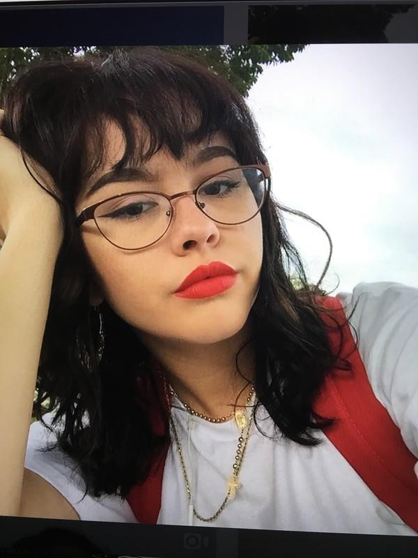 Bag Backpack Enya Umanzor Glasses Necklace Shirt Enjajaja Wheretoget