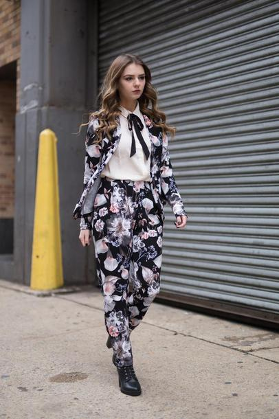 Image result for florals street style 2017