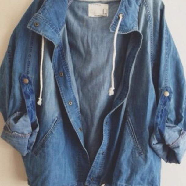 Jean Jacket Tumblr Outfits Girls