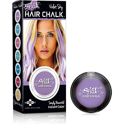 temporary splat hair chalk violet sky ulta cosmetics fragrance salon and beauty ts