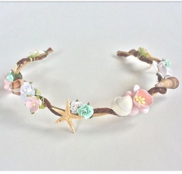 Hair Accessory Seashell Headband Wheretoget
