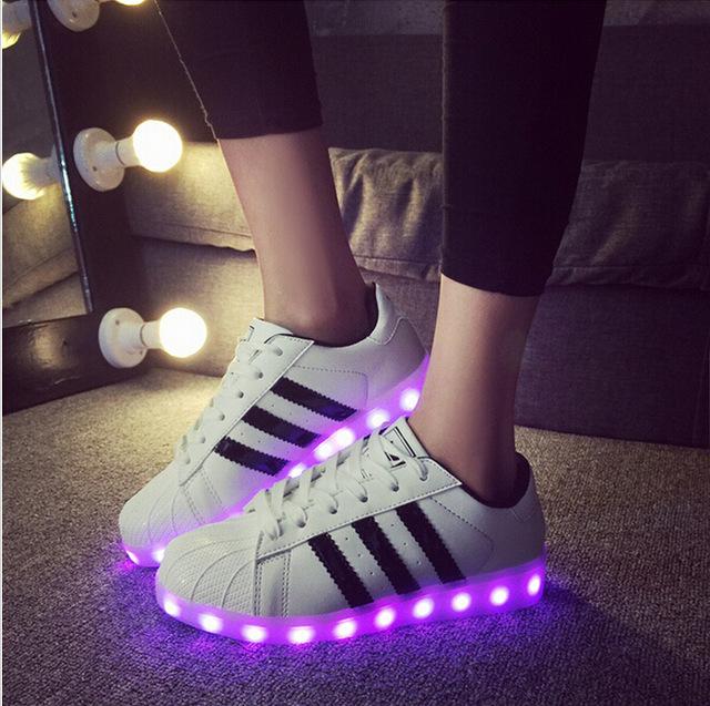 Led Light Shoes Adidas
