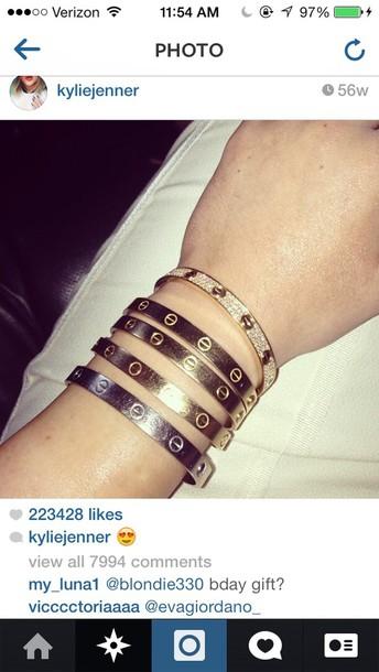 Jewels Kylie Jenner Jewelry Bracelets Wheretoget