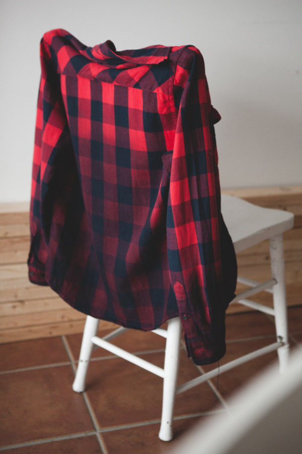 Shirt Undefined Fading Ombre Plaid Shirt Plaid Skirt
