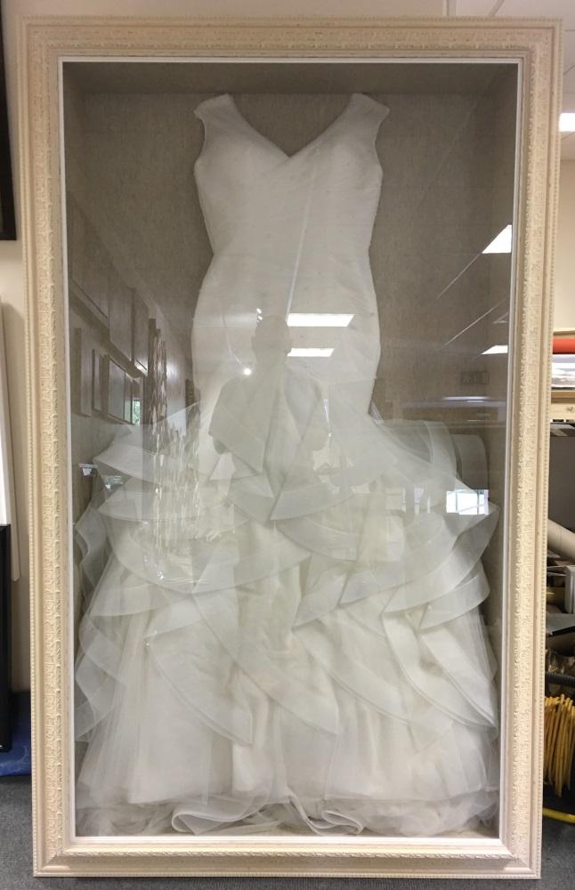 Wedding Dress Framing Service Uk Allframes5